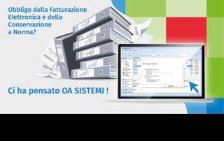 oa sistemi e-fattura gamma ufficio