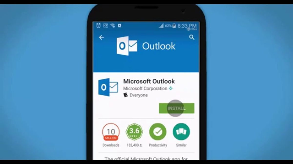 outlook android configurazione