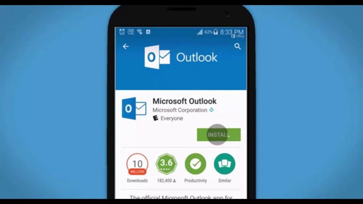 outlook android configurazione